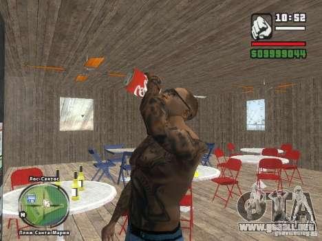 Nuevo Beach bar Verona para GTA San Andreas sexta pantalla
