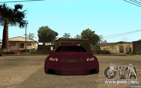 Audi A3 Tuned para la visión correcta GTA San Andreas