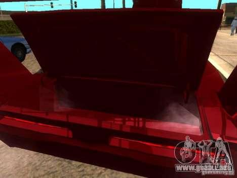 Dodge Charger Daytona Fast & Furious 6 para vista lateral GTA San Andreas