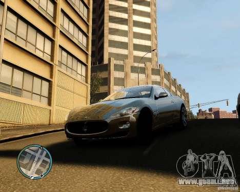 Maserati Grandturismo para GTA 4 left