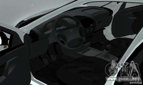 Lada Kalina Hatchback Stock para GTA San Andreas vista hacia atrás