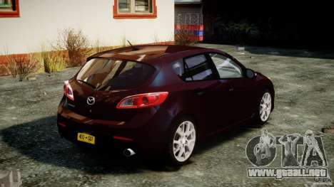 Mazda Speed 3 [Beta] para GTA 4 vista lateral