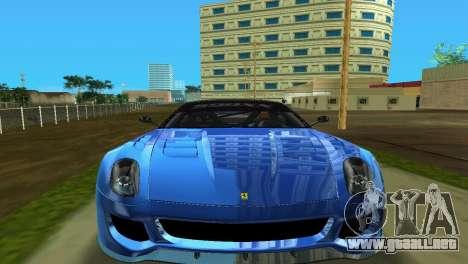 Ferrari 599XX para GTA Vice City left