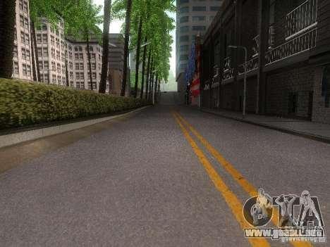 Modification Of The Road para GTA San Andreas sucesivamente de pantalla