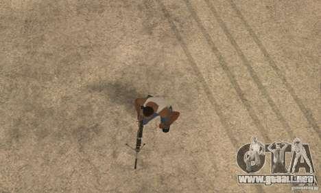 Intervenšn de Call Of Duty Modern Warfare 2 para GTA San Andreas quinta pantalla