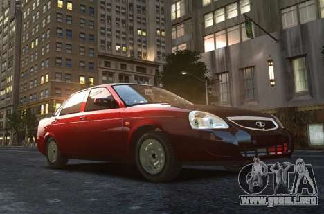VAZ 2170 Lada Priora para GTA 4 vista superior