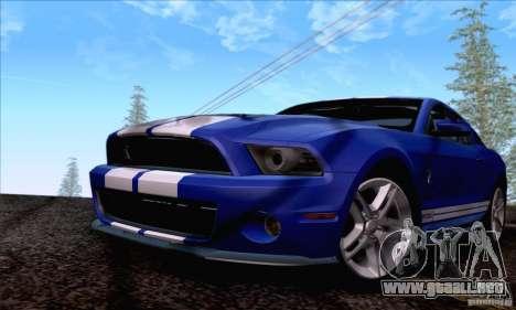 SA_nGine v1.0 para GTA San Andreas octavo de pantalla