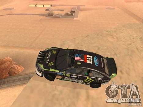 Ford Focus RS2000 v1.1 para GTA San Andreas left