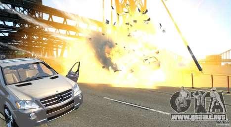 Explosion & Fire Tweak 1.0 para GTA 4 adelante de pantalla