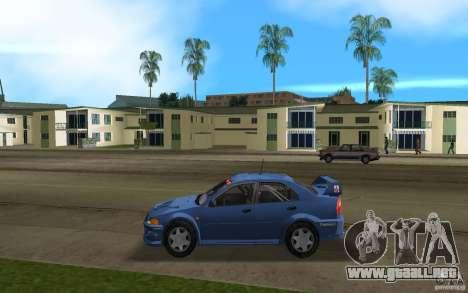 Mitsubishi Lancer Evo VI para GTA Vice City left