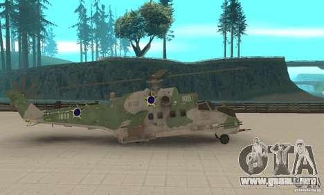Un helicóptero desde el conflicto Global SSSR para GTA San Andreas left