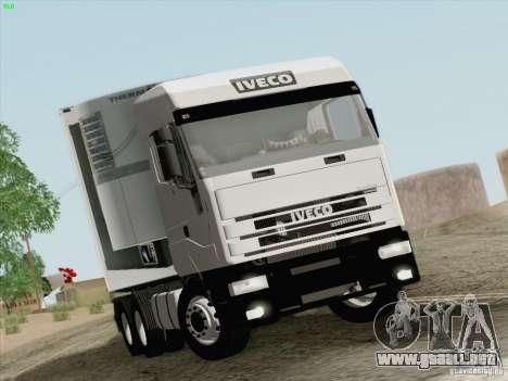 Iveco Eurostar para GTA San Andreas left