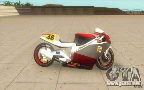 NRG-500 tuning para GTA San Andreas left