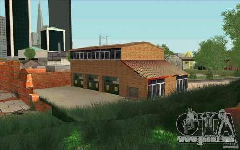 Estación de bomberos para GTA San Andreas segunda pantalla