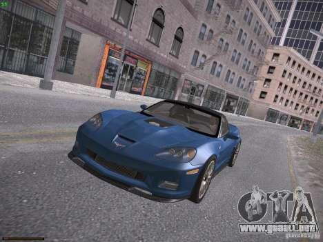 Chevrolet Corvette ZR1 para la visión correcta GTA San Andreas