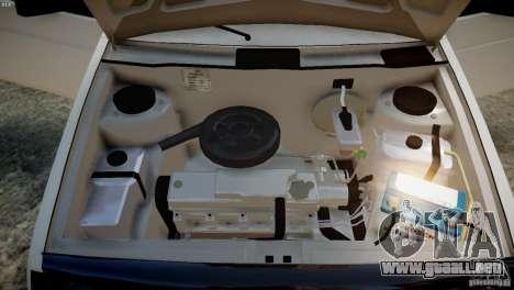 VAZ 21099 Tuning luz para GTA 4 vista hacia atrás
