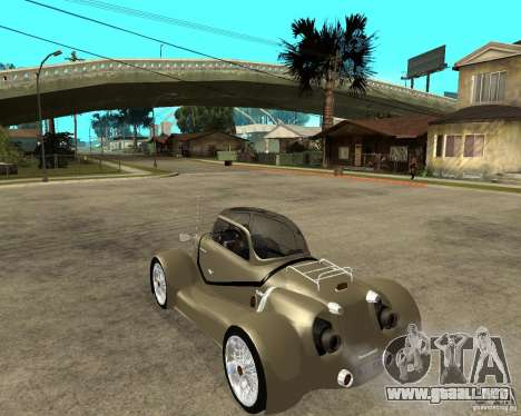 Messerschmitt GT500 Tiger Hard tuned para GTA San Andreas left