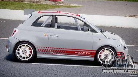 Fiat 500 Abarth para GTA 4 left