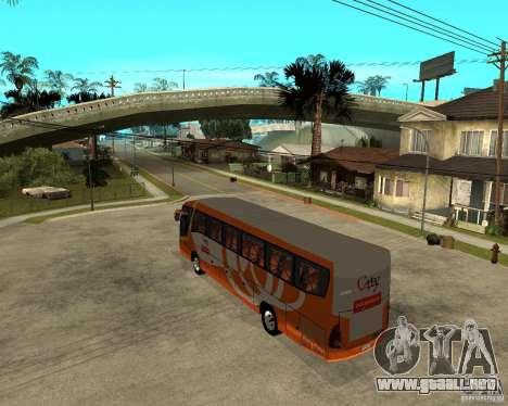 City Express Bus malasio para GTA San Andreas left
