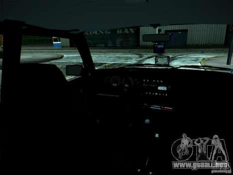 ВАЗ 2114 para la vista superior GTA San Andreas