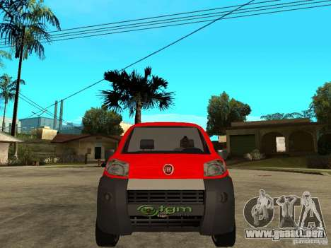 Fiat Fiorino Combi para la visión correcta GTA San Andreas