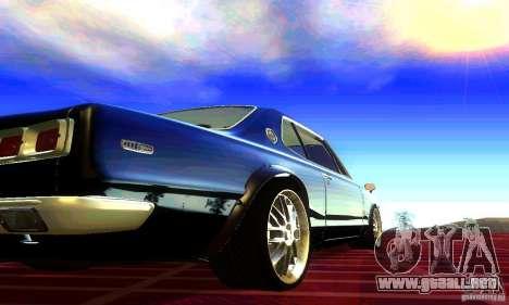 Nissan Skyline 2000-GTR para GTA San Andreas left