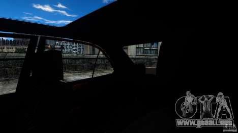 Mercedes-Benz E55 AMG para GTA 4 vista interior