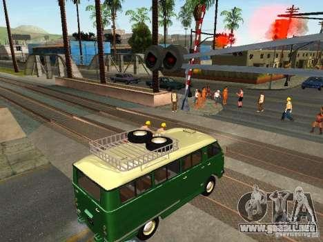 Nueva señal de tren para GTA San Andreas segunda pantalla