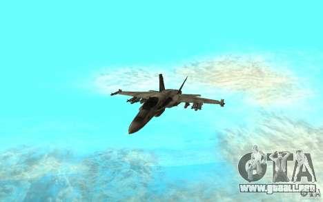 F-18 Hornet para GTA San Andreas left