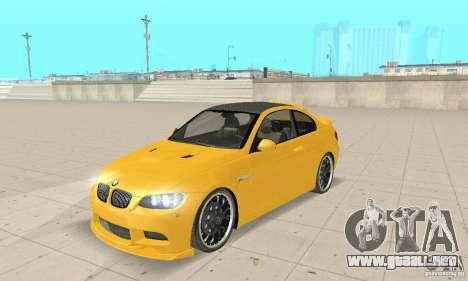 BMW M3 2008 Hamann v1.2 para GTA San Andreas