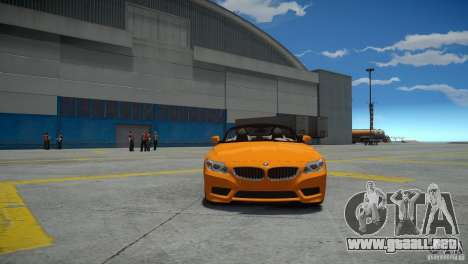 BMW Z4 sDrive 28is para GTA 4 visión correcta