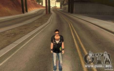 Biker para GTA San Andreas segunda pantalla