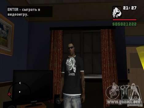 Camiseta Joker para GTA San Andreas