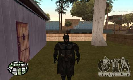 Dark Knight Skin Pack para GTA San Andreas quinta pantalla