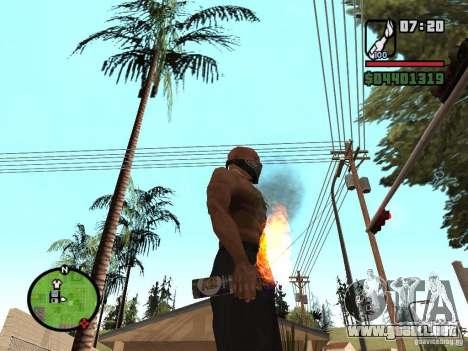 Molotov-cosacos para GTA San Andreas