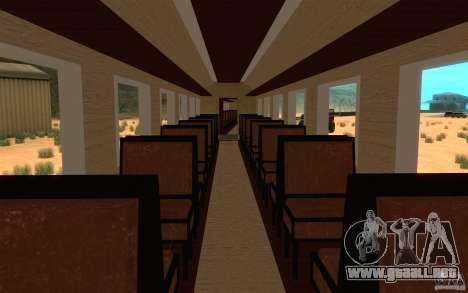 Locomotive para vista lateral GTA San Andreas