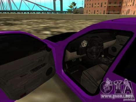 Lexus IS300 - Stock para GTA San Andreas vista hacia atrás