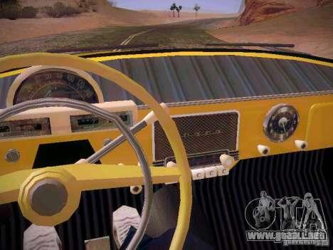 Van GAS 22B para la vista superior GTA San Andreas