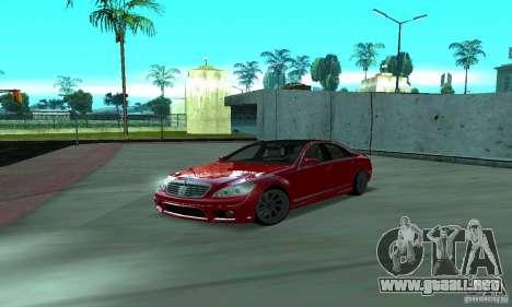 Mercedes-Benz S65 AMG Estate Edition para vista lateral GTA San Andreas