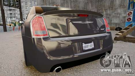 Chrysler 300 SRT8 2012 para GTA 4 visión correcta