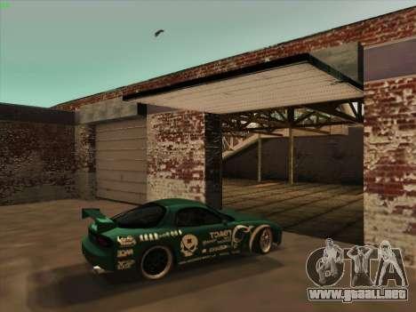 Mazda RX7 rEACT para visión interna GTA San Andreas