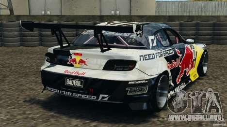 Mazda RX-8 Mad Mike para GTA 4 Vista posterior izquierda