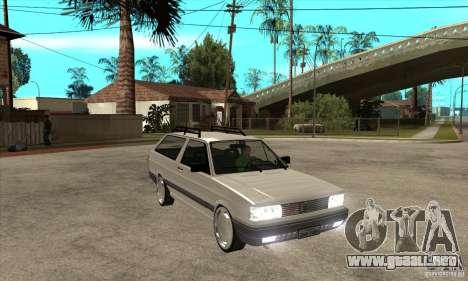 Volkswagen Parati GLS 1994 para GTA San Andreas vista hacia atrás