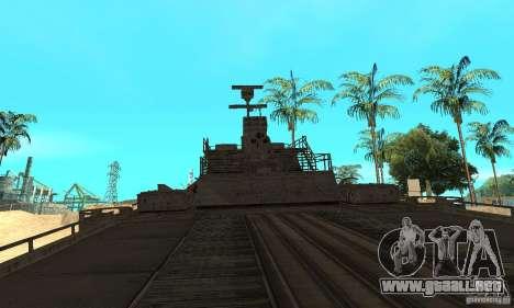Barco para la visión correcta GTA San Andreas