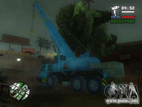 Split Second - Static Truck para GTA San Andreas left