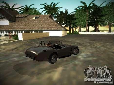 Shelby Cobra para la visión correcta GTA San Andreas