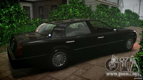 Washington FBI Car para GTA 4 left