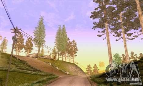 SA_nGine v1.0 para GTA San Andreas sexta pantalla