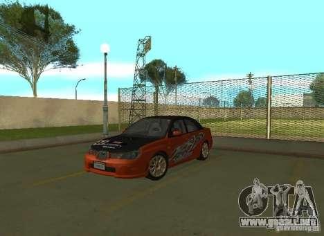 Subaru Impreza WRX STI-Street Racing para GTA San Andreas