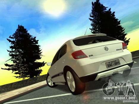 Volkswagen Gol Rallye 2012 para GTA San Andreas left